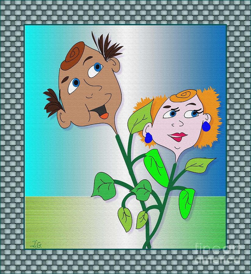 Freddy And Fern Digital Art