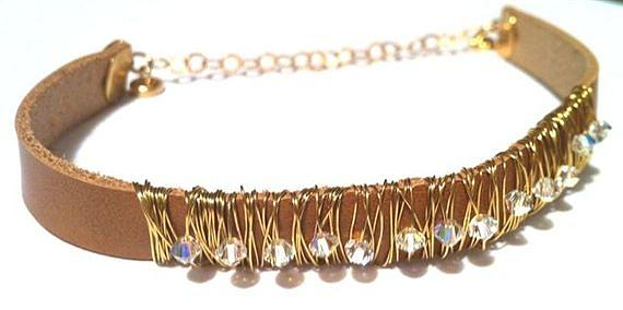 Jewelry Jewelry - Free Shipping Idit Stern Coil And Crystal Bracelet by Idit Stern