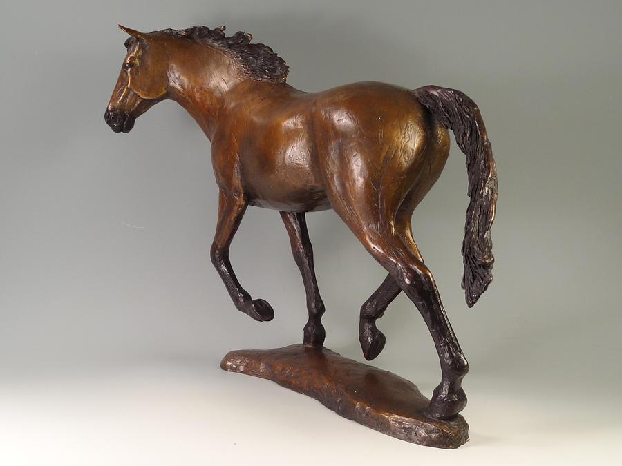 Bronze Sculpture - Free Spirit by Lisbeth Sabol