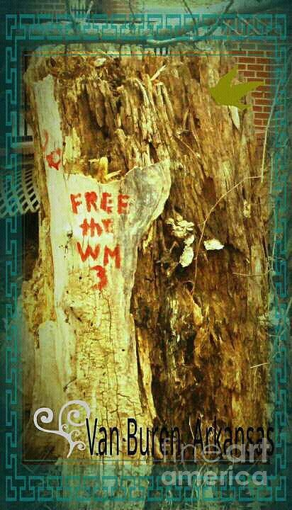 Free The West Memphis 3 Mixed Media