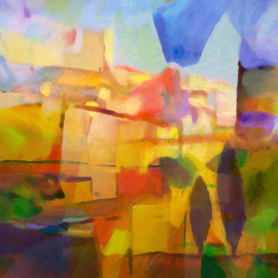 French Abstract Painting