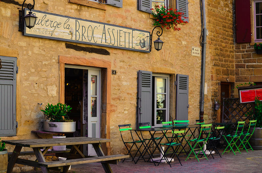 French Auberge Photograph
