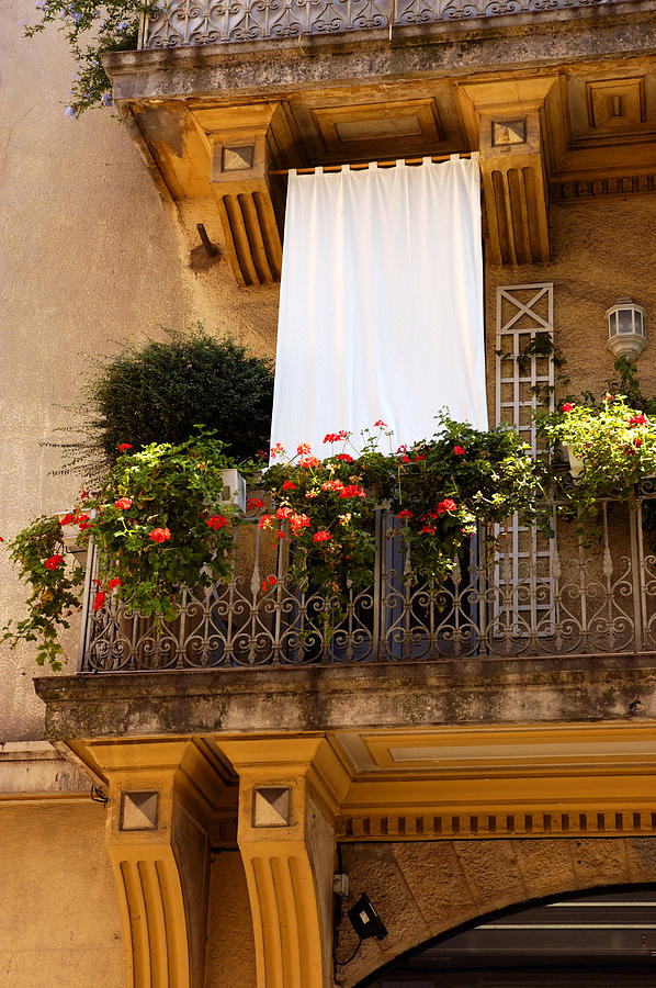 French Balcony Photograph
