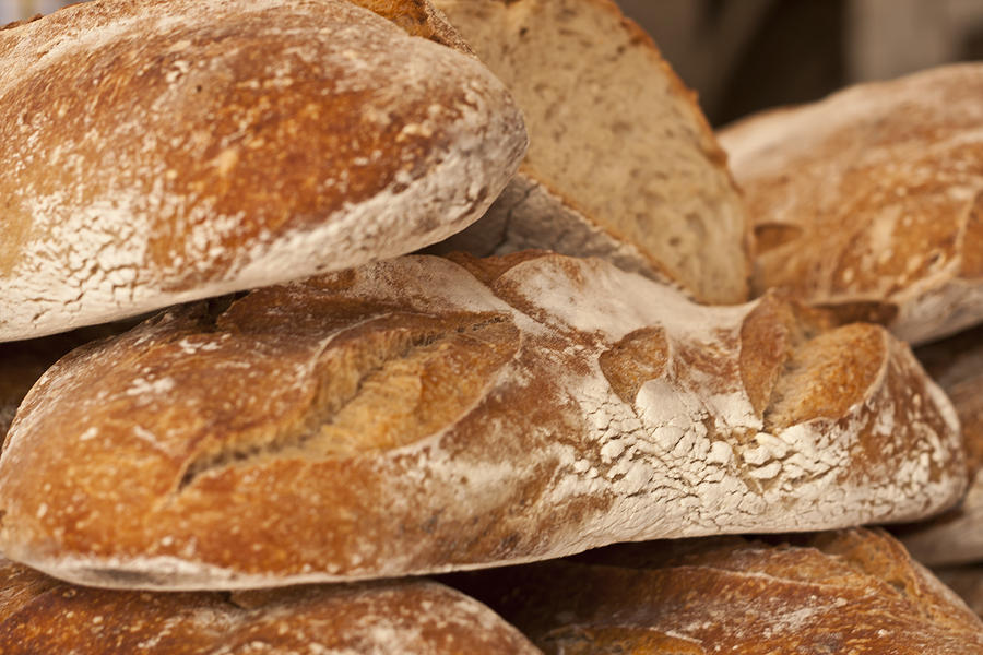 French Bread Photograph