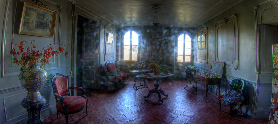 French Chateau Interior 02 Photograph  - French Chateau Interior 02 Fine Art Print