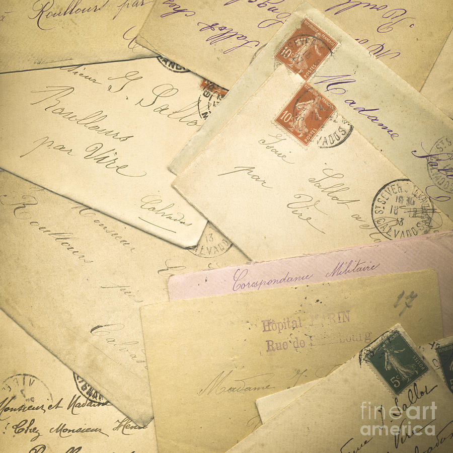 French Correspondence From Ww1 #2 Photograph