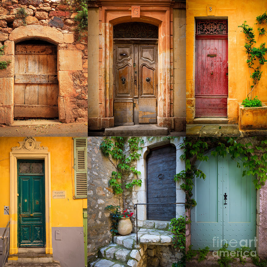 French Doors Photograph