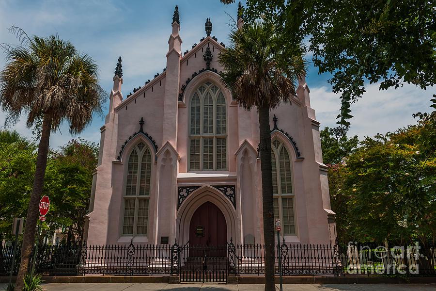 French Huguenot Church In Charleston Sc Photograph