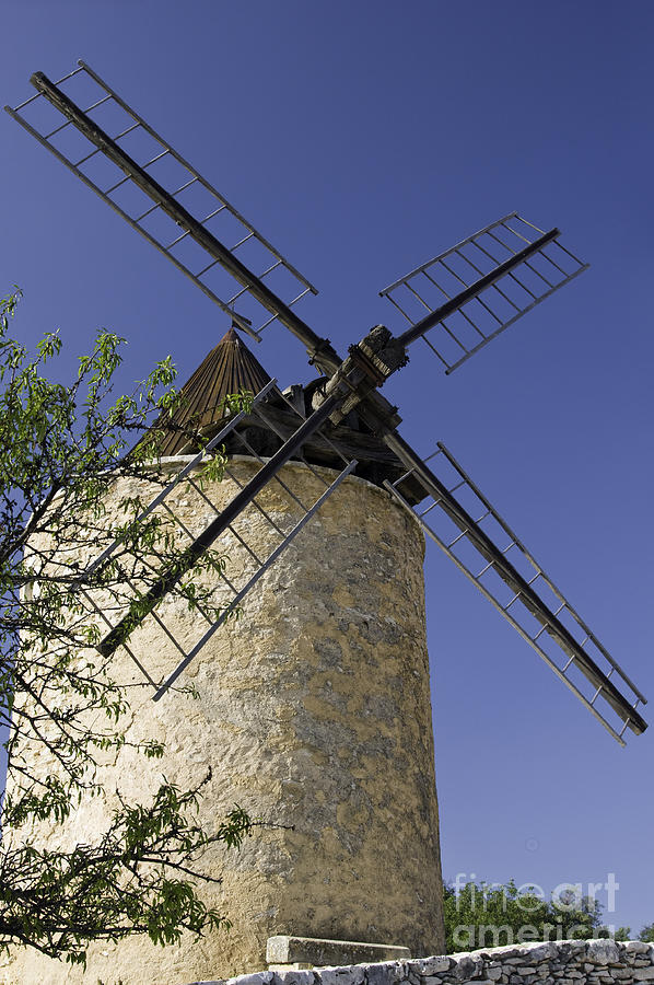 French Moulin Photograph