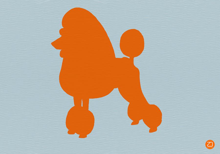 French Poodle Orange Photograph