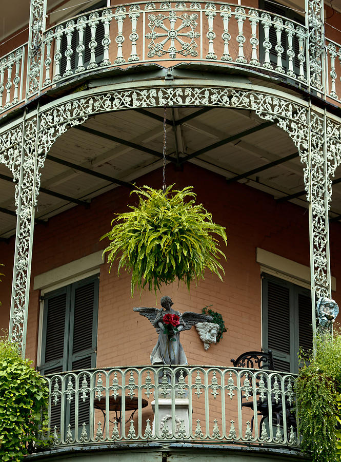 French quarter balcony photograph by susie hoffpauir for French quarter balcony