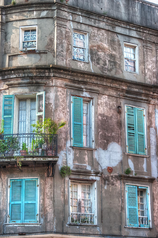Windows Photograph - French Quarter Landmark by Brenda Bryant