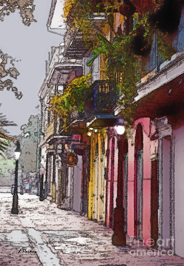 French Quarter New Orleans Photograph