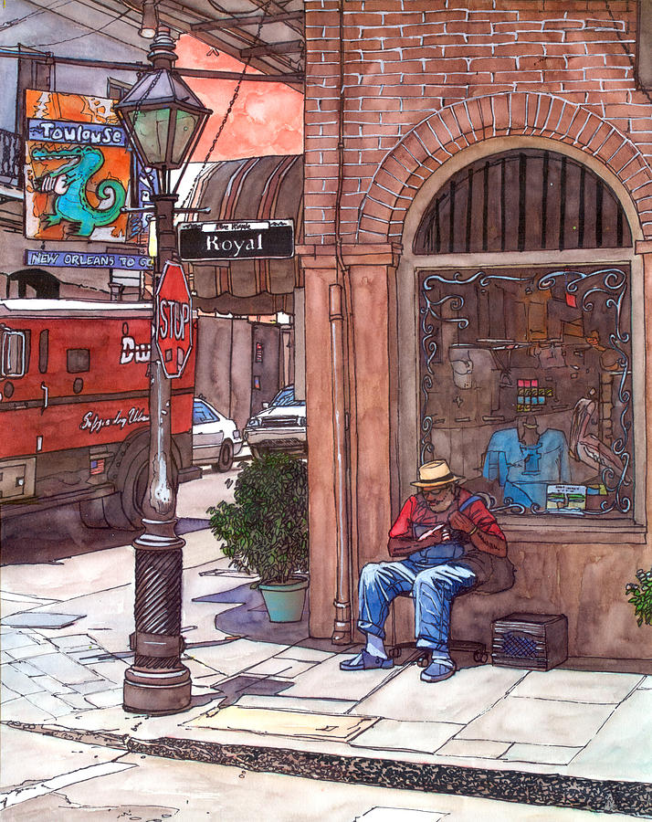 French Quarter Royal St. Painting