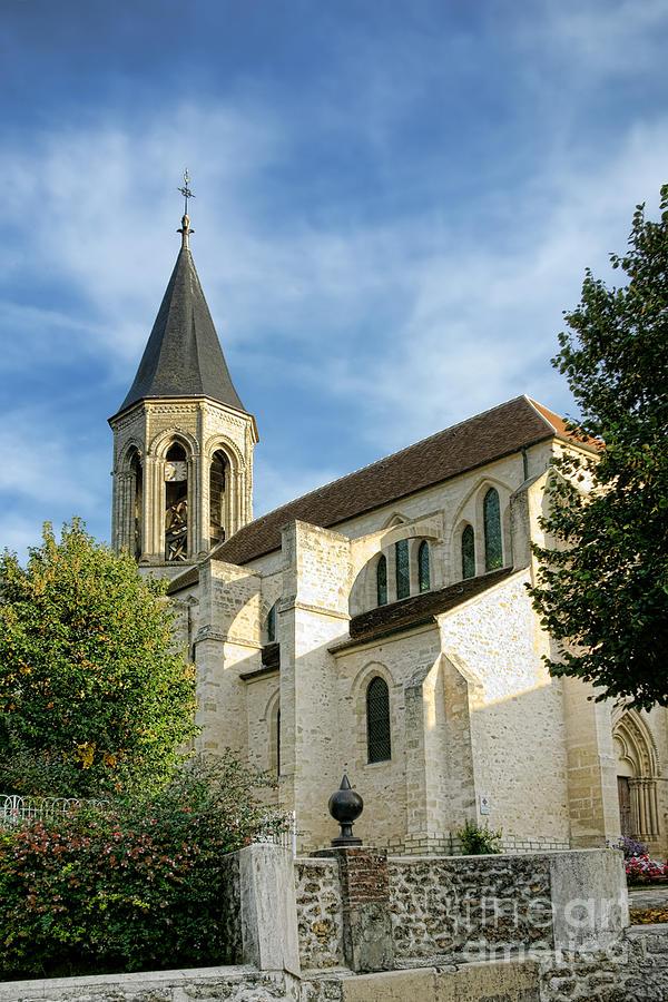 French Village Church Photograph