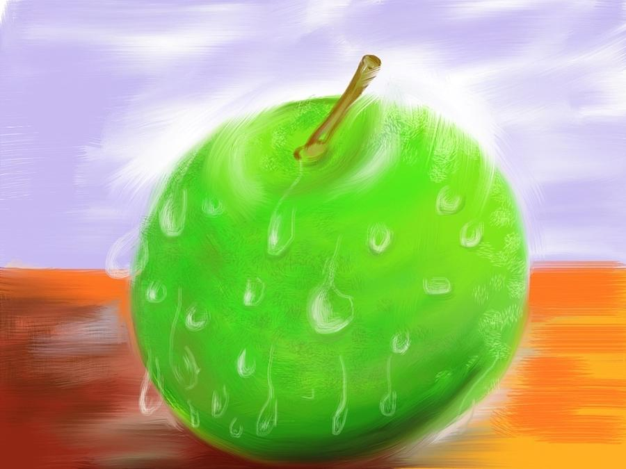 Fresh Fruit Painting  - Fresh Fruit Fine Art Print