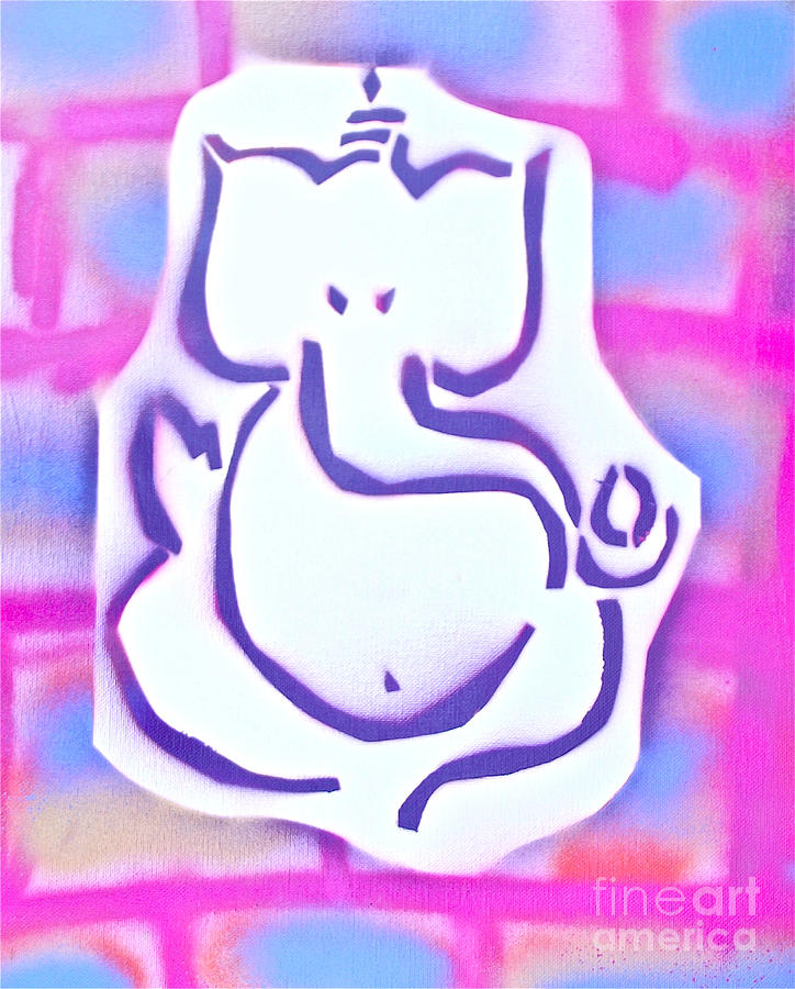 Fresh Ganesh 3 Painting