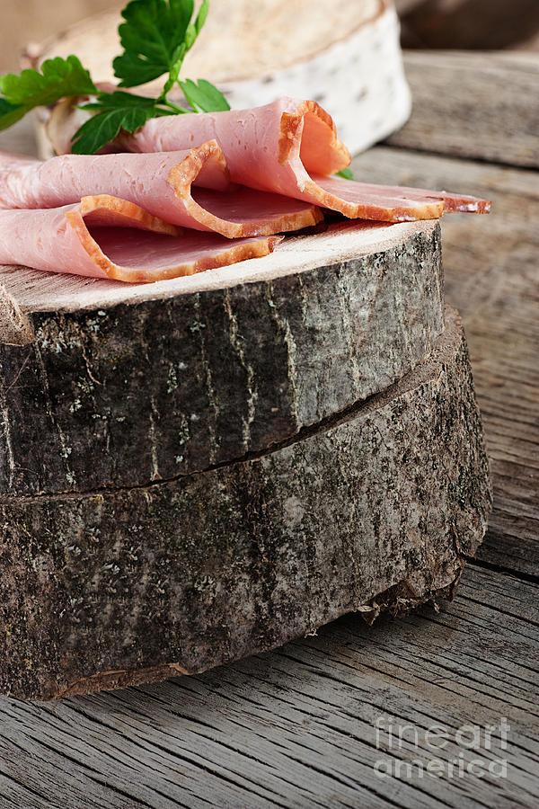 Fresh Ham Photograph