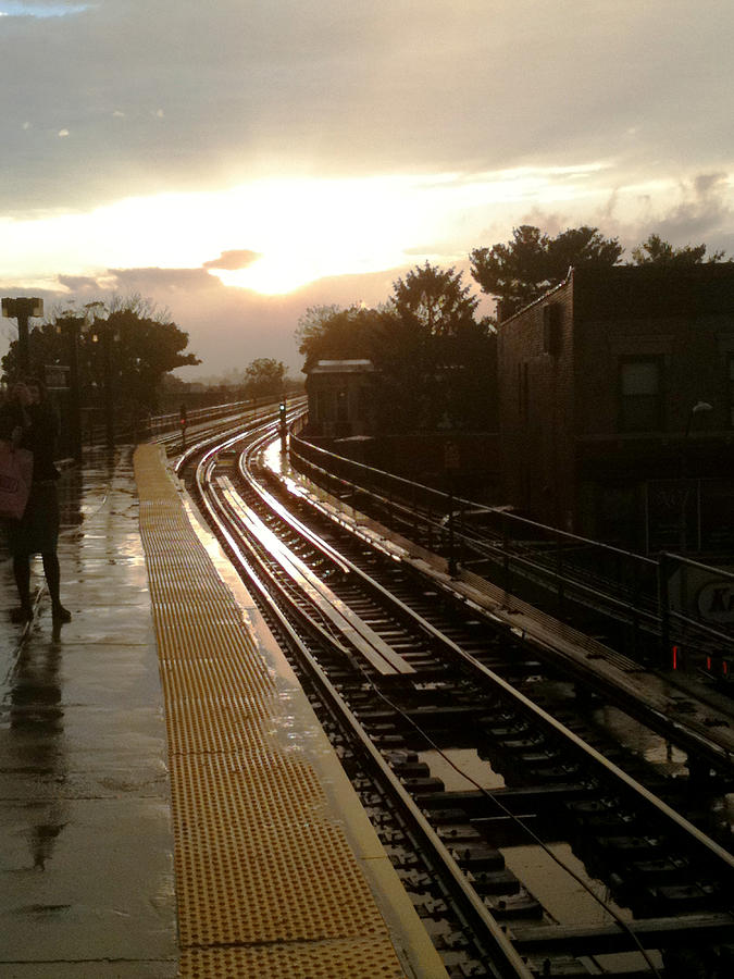 Fresh Pond Rd Station Photograph