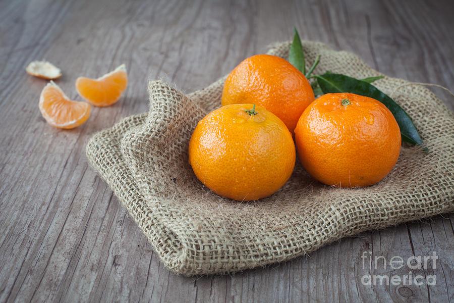 Fresh Tangerine Photograph