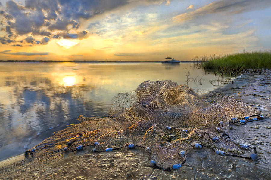Clouds Photograph - Fresh Water by Debra and Dave Vanderlaan