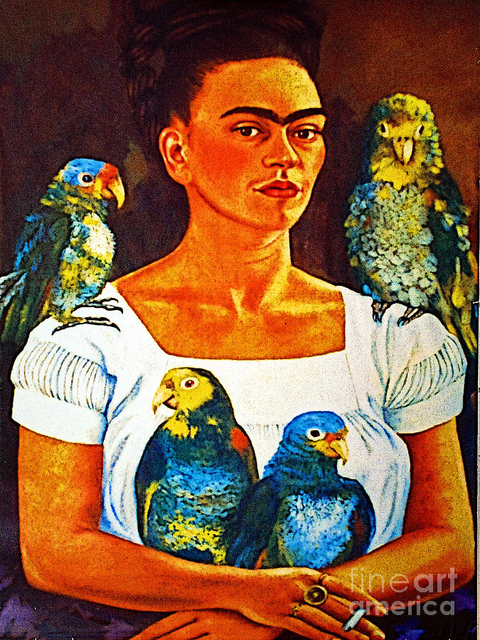 Frida In Tlaquepaque Photograph