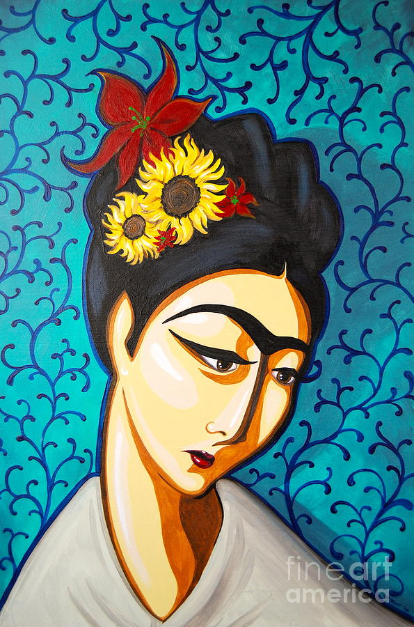 Frida Painting  - Frida Fine Art Print