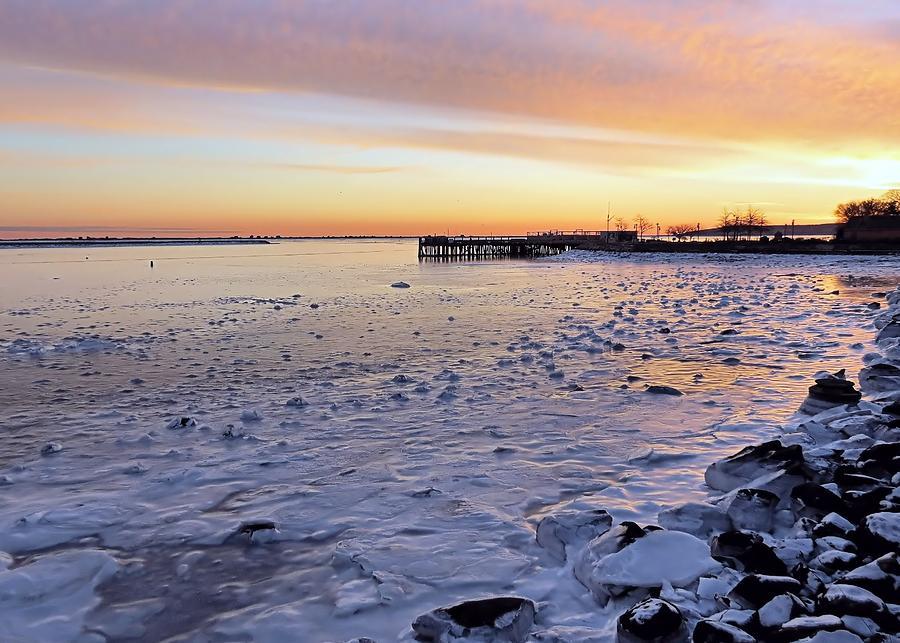 Frigid Sunrise Photograph