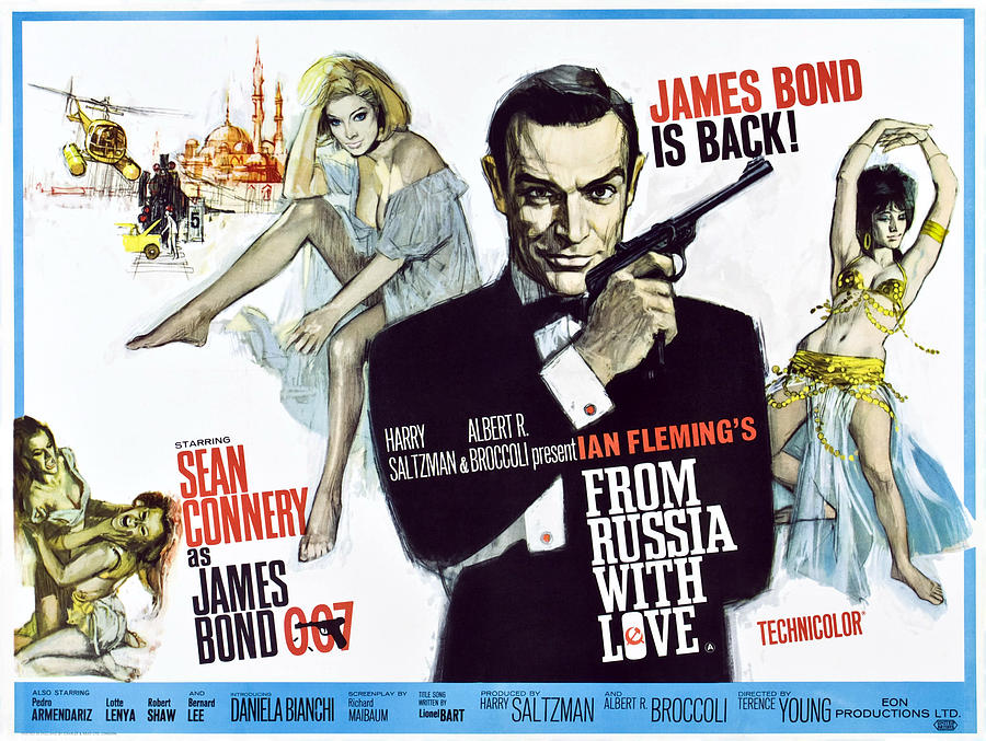 From Russia With Love, British Poster is a photograph by Everett which ...