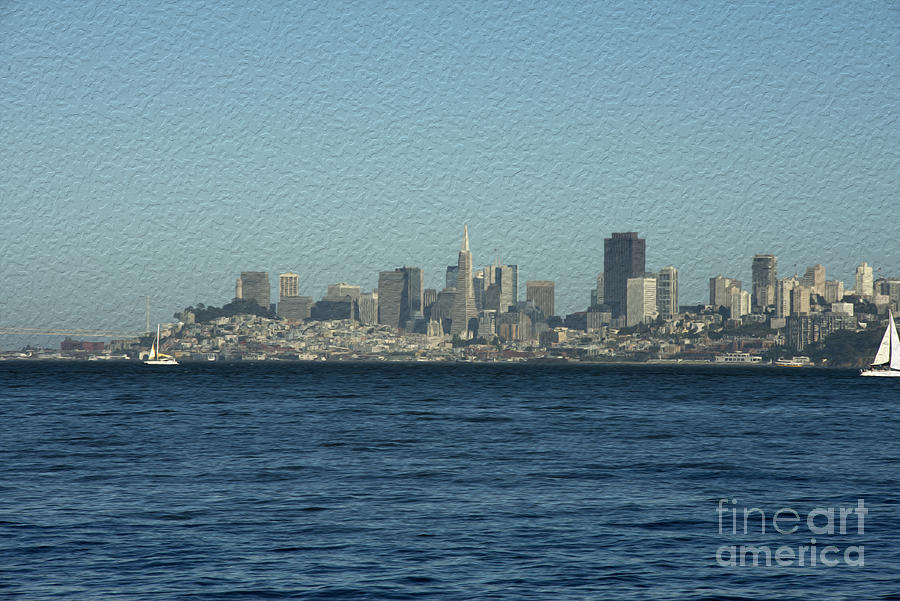 From Sausalito Photograph  - From Sausalito Fine Art Print