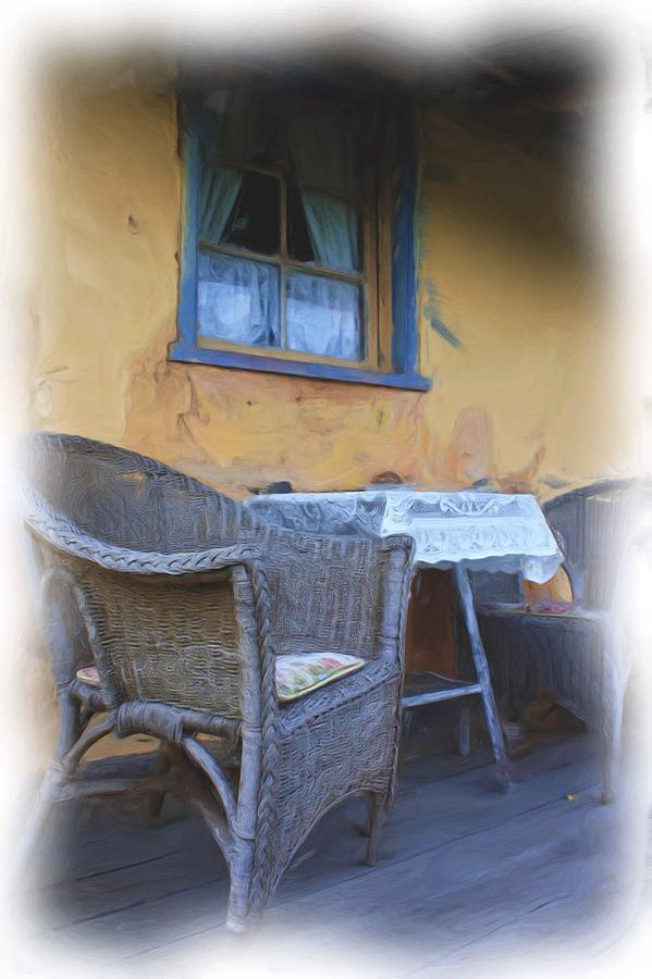 Front Porch. Photograph  - Front Porch. Fine Art Print