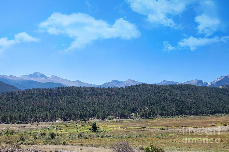 Front Range Rockies Photograph