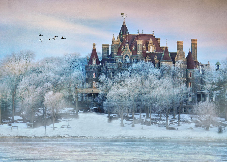 Frosted Castle Photograph