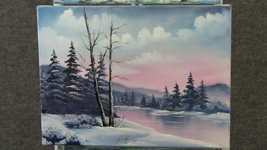 Frosty Morning  Painting