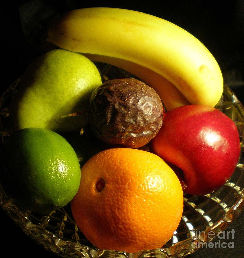Fruit Bowl Photograph  - Fruit Bowl Fine Art Print
