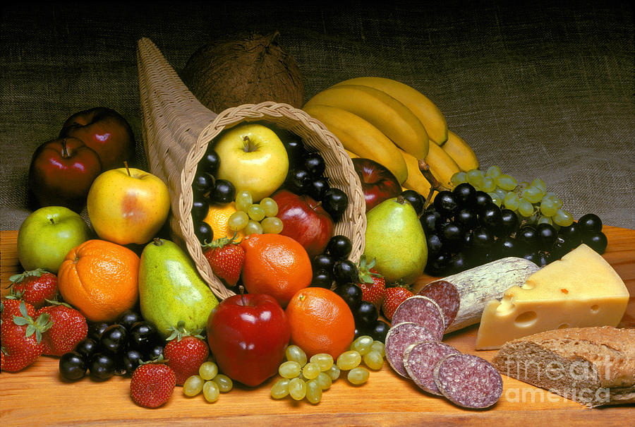 Fruit Cornucopia  Photograph