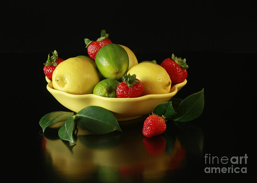 Fruit Explosion Photograph  - Fruit Explosion Fine Art Print