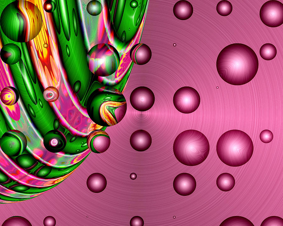 Fruit Punch Digital Art  - Fruit Punch Fine Art Print