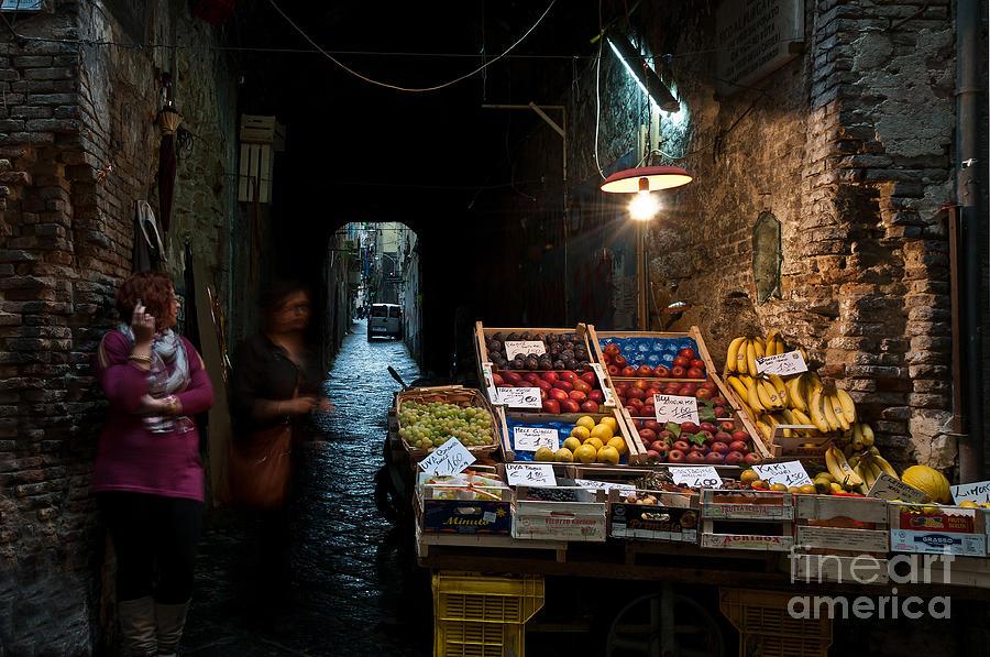 Fruit Stall Photograph