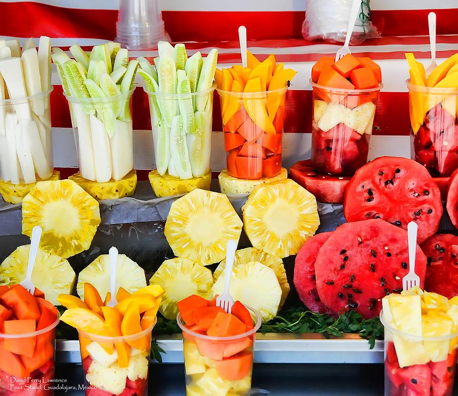 Fruit Stand -  Guadalajara -  Mexico Photograph