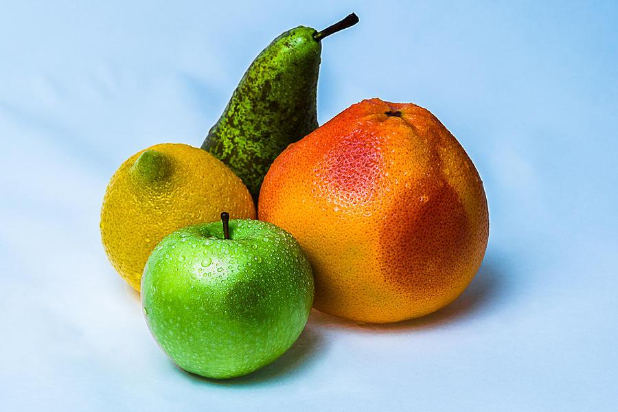 Grapefruit Photograph - Fruits by Alexander Senin