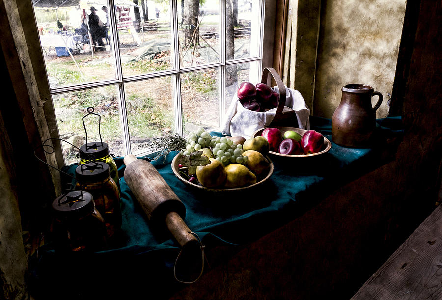 Fruit Photograph - Fruits Of Harvest by Peter Chilelli