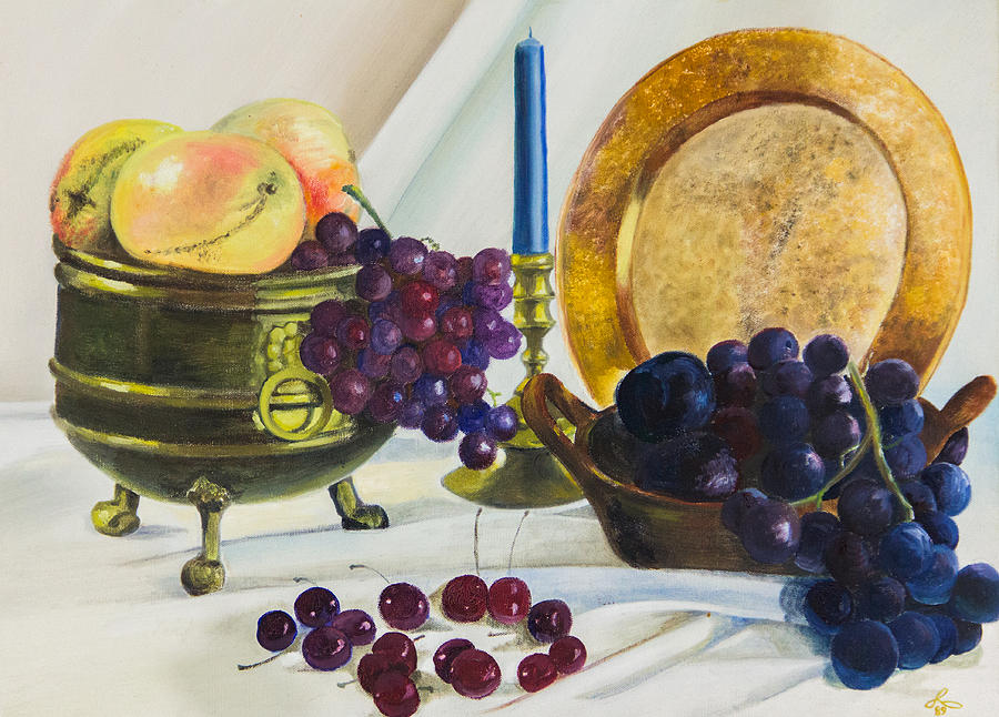 Frutas Oscuras Painting