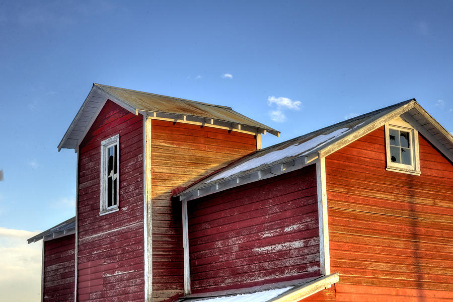 Ft Collins Barn Sunset 13505 Photograph  - Ft Collins Barn Sunset 13505 Fine Art Print