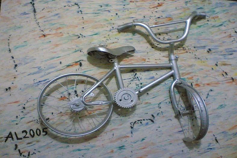 Relief - Full Bicycle  by Elmorsi Elharty