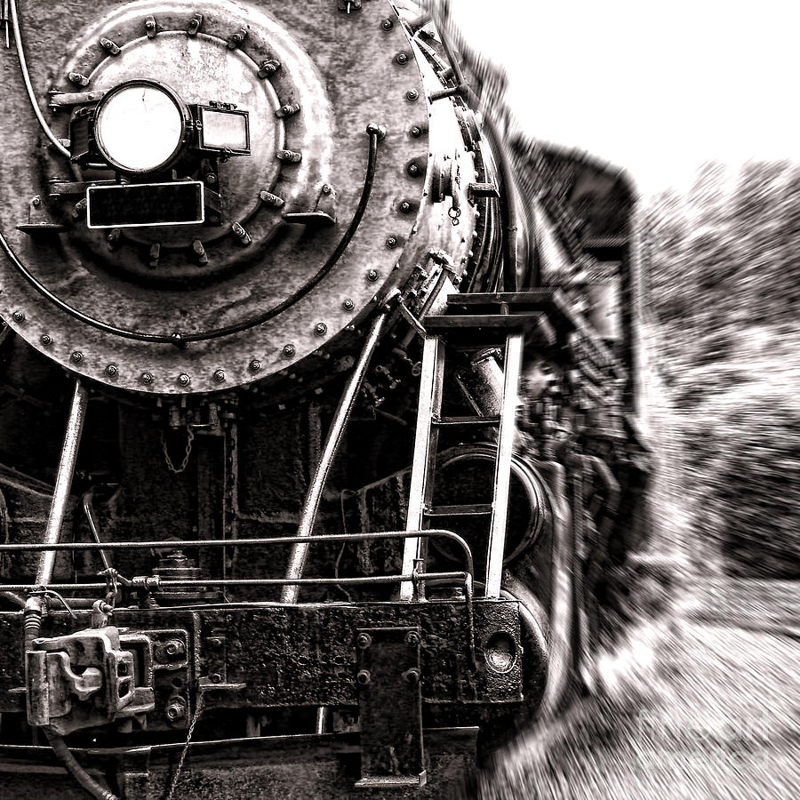 Full Steam Photograph  - Full Steam Fine Art Print