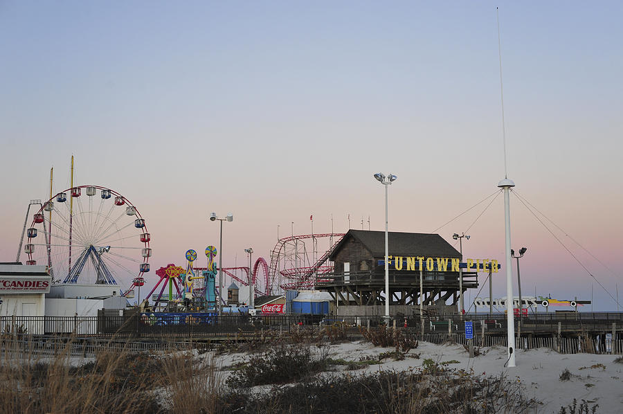Fun At The Shore Seaside Park New Jersey Photograph  - Fun At The Shore Seaside Park New Jersey Fine Art Print