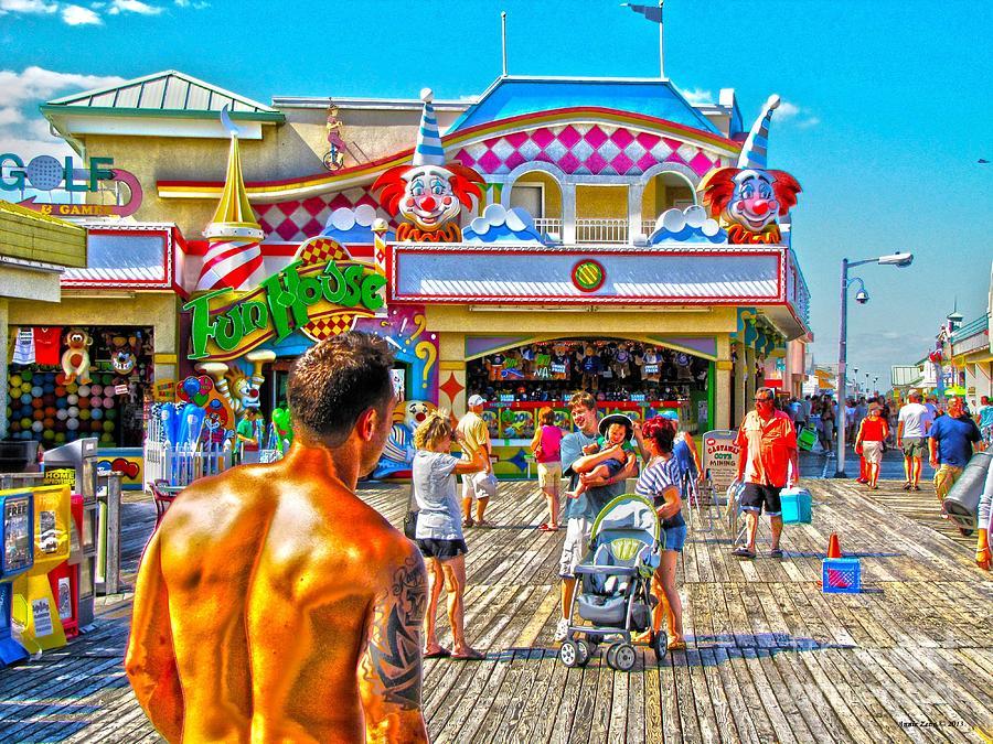 Funhouse Point Pleasant Nj Photograph
