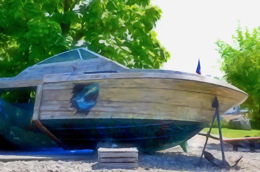 Funplex Funpark Boat 5 Painting