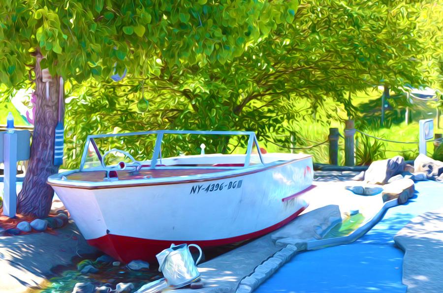 Funplex Funpark Boat 6 Painting